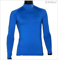 스판언더셔츠 파랑