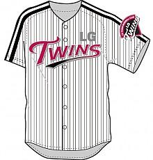 LG Twins팀 야구유니폼(홈)