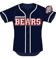 2010 두산베어스 야구유니폼(원정)