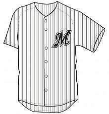 지바 롯데마린스 야구유니폼(홈1)