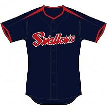 2010 야쿠르트 스왈로즈 야구유니폼 (홈)